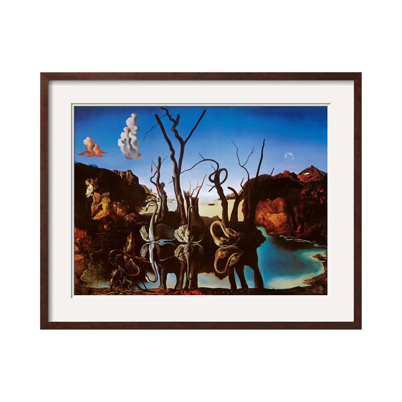 Salvador Dalí // Swans Reflecting Elephants (Espresso ...