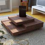 Slate Coffee Table (Chocolate)