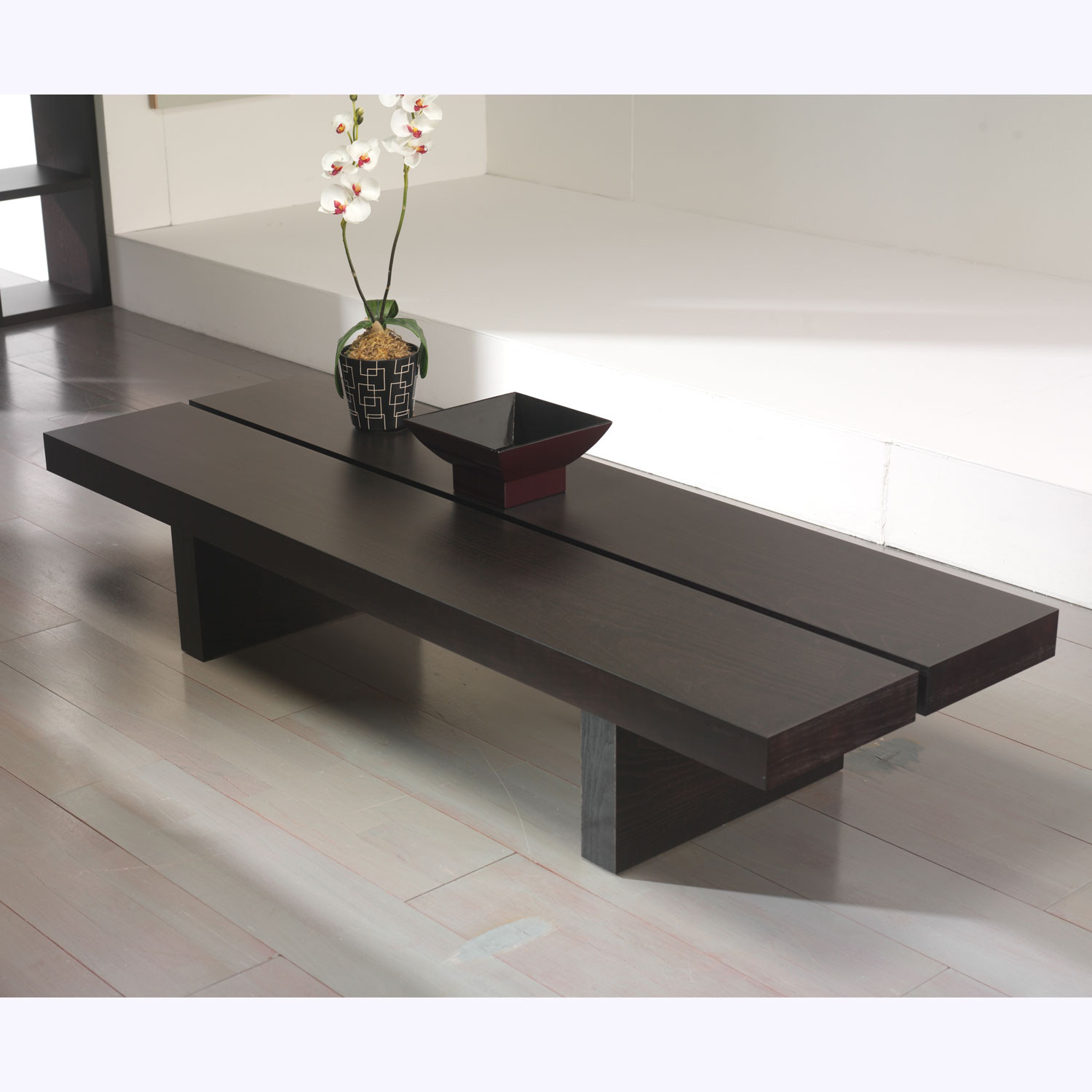 Superbe Tokyo 180 Low Coffee Table // Wenge