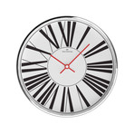 Chrome Wall Clock // W303S53W