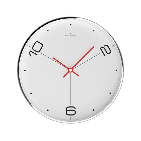 Chrome Wall Clock // W303S14W