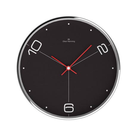 Chrome Wall Clock // W303S14B