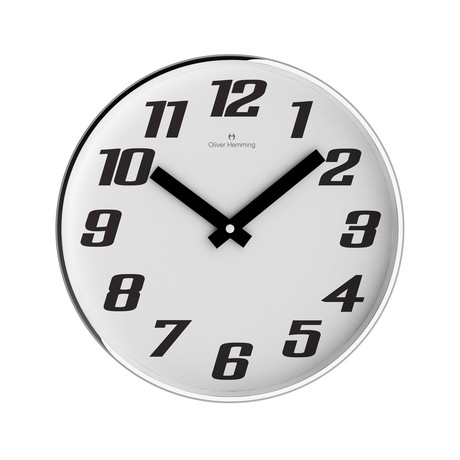 Chrome Wall Clock // W303S41WB