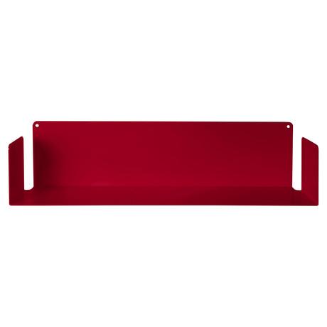 """U"" Wall Shelf // Red"