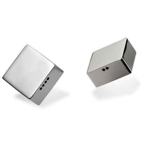 Murazzo Square Salt + Pepper Shaker Set