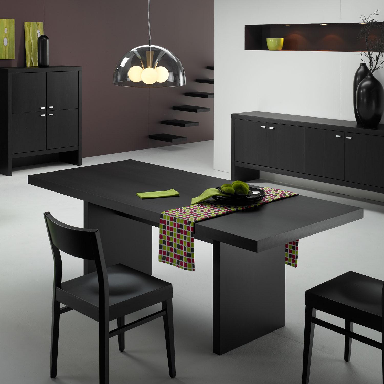 Dining Room Table Sleek Linear