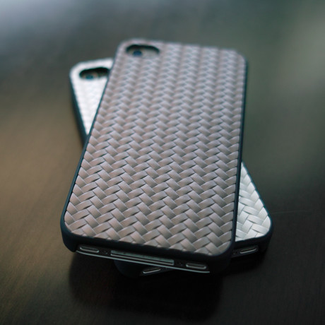 Metal Weave Case for iPhone 4S/4/5 // Gun Metal (iPhone 4/4S)