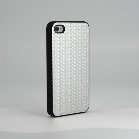 Metal Weave Case for iPhone 4S/4/5 // Silver (iPhone 4/4S)