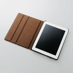 Soft Leather iPad2 Case (Black)