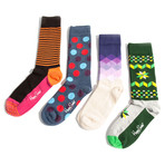 Maximilian // Set of 4  (Sock Size 9-11)