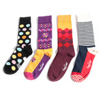 Kevin // Set of 4  (Sock Size 9-11)