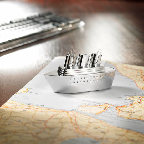 Cruise Ship Paperweight