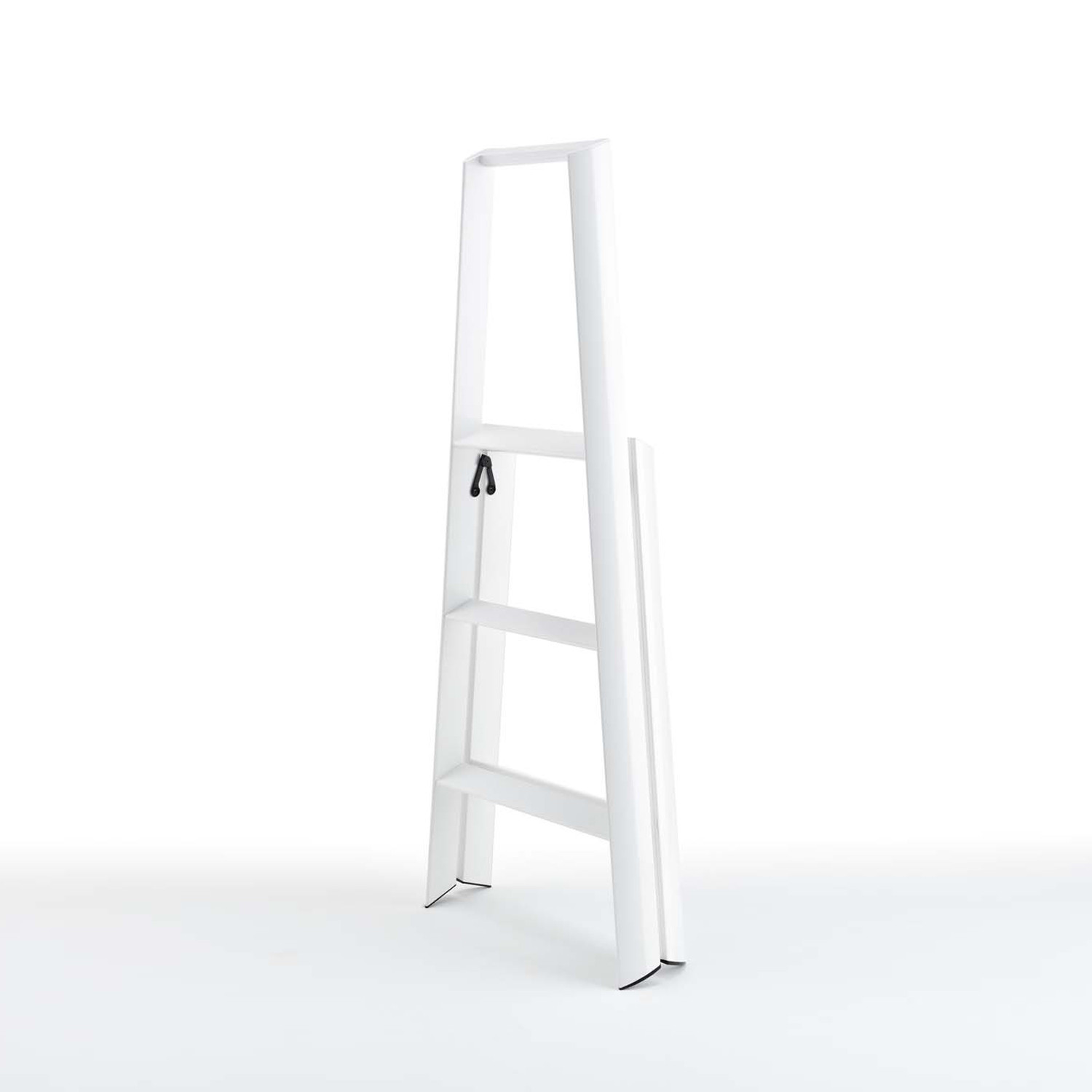 Astonishing Lucano 3 Step Stool White Metaphys Stools Touch Of Modern Caraccident5 Cool Chair Designs And Ideas Caraccident5Info