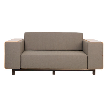Shell2 Sofa // Walnut (Mink)