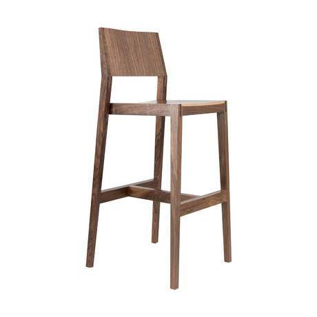 Bar Stool // Walnut