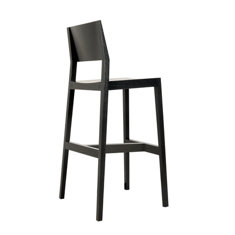Bar Stool // Ebony Maple