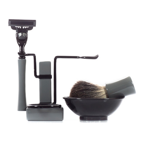 USA Shaving Set RBSB Series // Grey