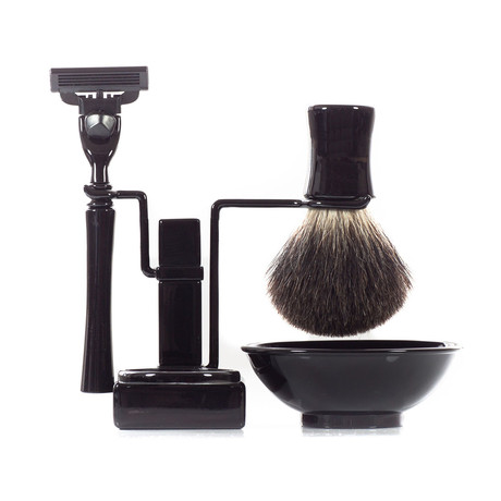 USA Shaving Set RBSB Series // Black