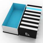 Stripes Madness Gift Box // Set of 3 (Size: 5 - 7.5)