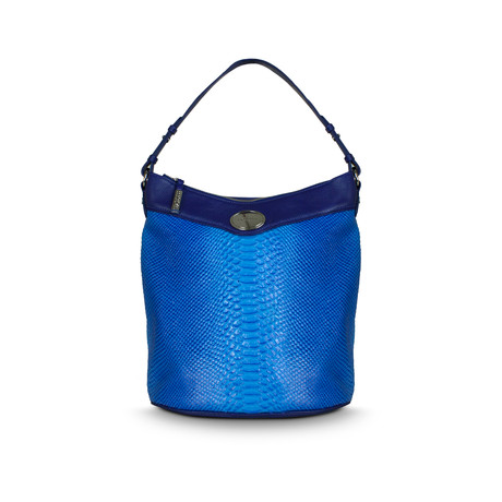 Peggy Bucket Tote // Cobalt