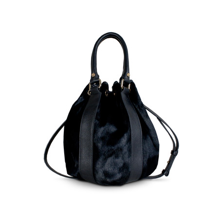 Angelica Drawstring // Black