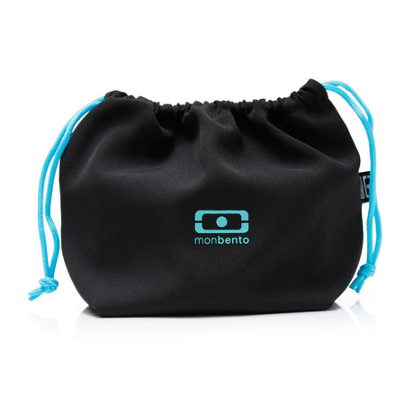 Original Bags // Black + Sky Blue
