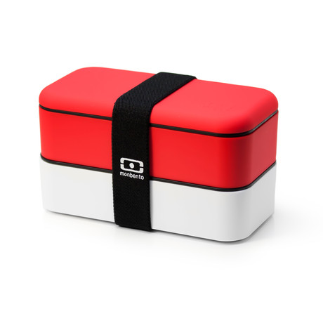 Bento Box // Red + White