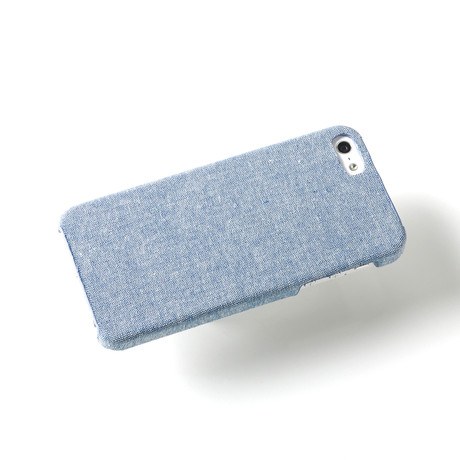 Hudson iPhone 5 Case // Blue Chambray