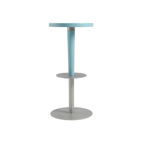 Perch Bar Stool // Light Blue Maple