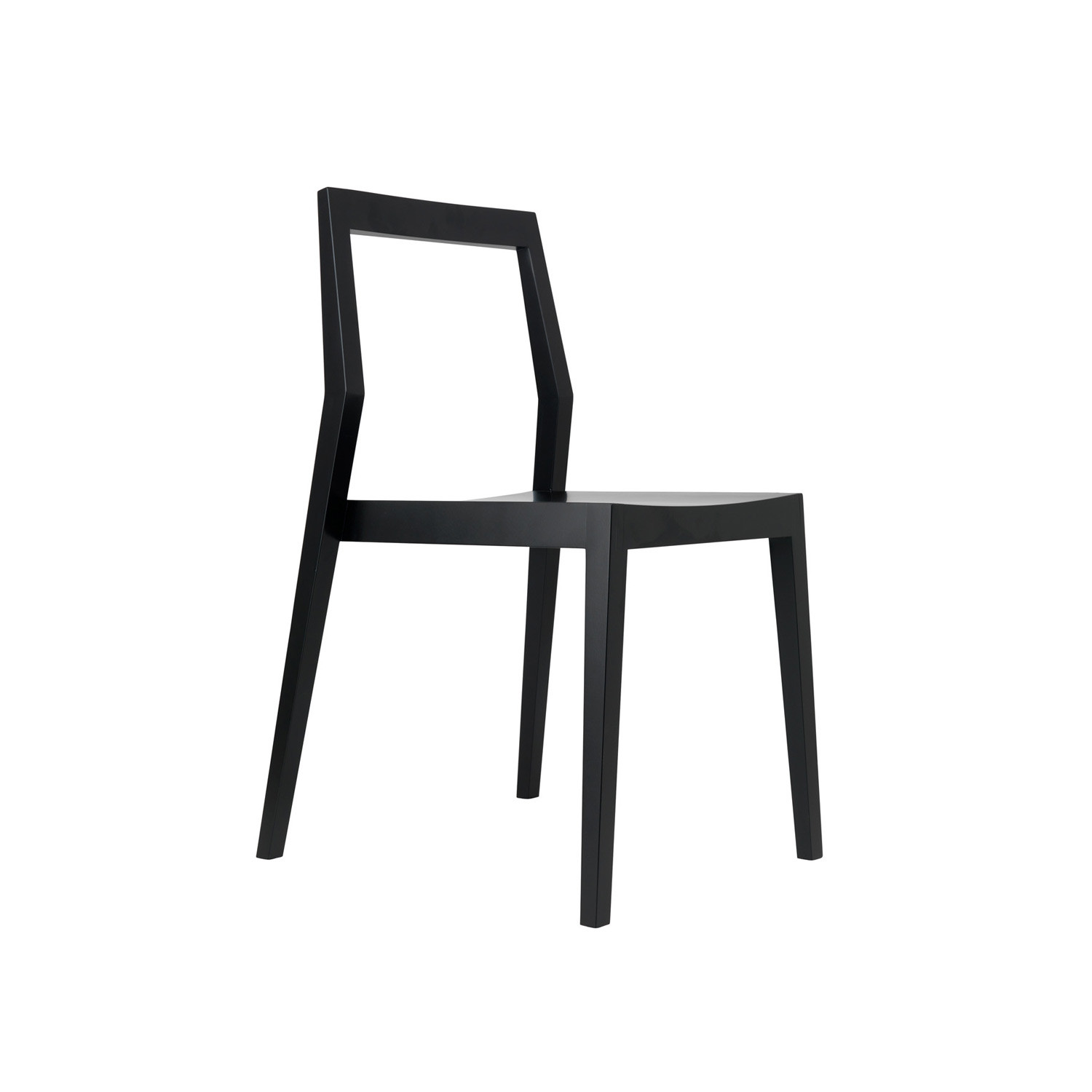 Fabulous Dining Chair W Open Back Ebony Maple Room B Touch Of Dailytribune Chair Design For Home Dailytribuneorg