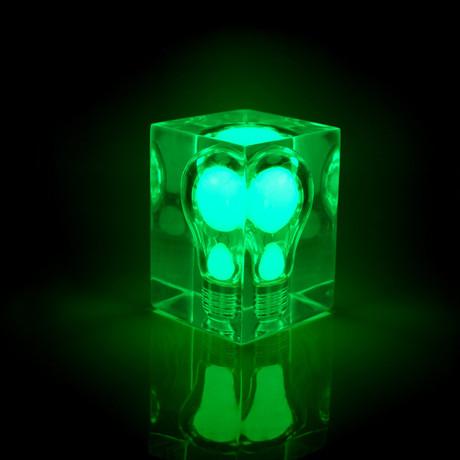 Glow Brick // Green