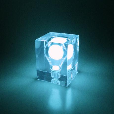 Glow Brick // Blue