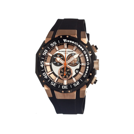 Deep Sea Timer Men's Watch // Rose Gold