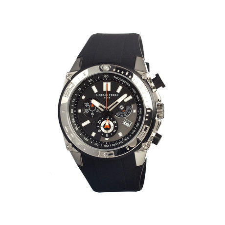 Speed Timer Men's Watch // Silver