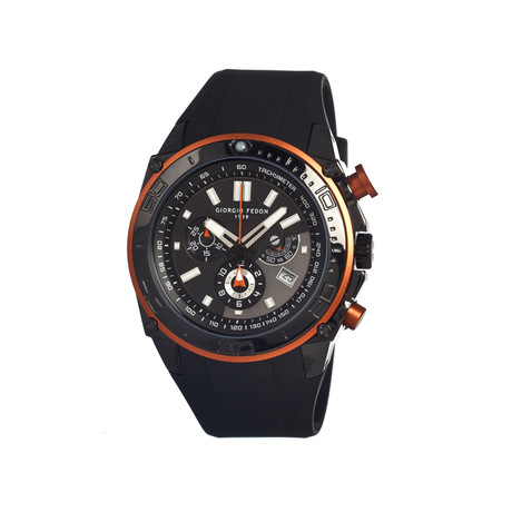 Speed Timer Men's Watch // Orange