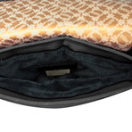Quilted Crossbody for iPad // Black