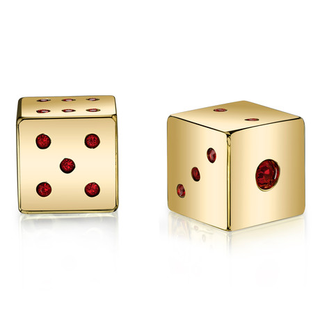 Axwell USA Lucky Dice Gold // Red