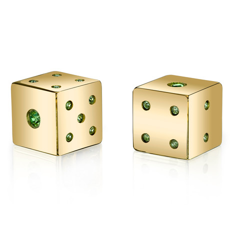 Axwell USA Lucky Dice Gold // Green