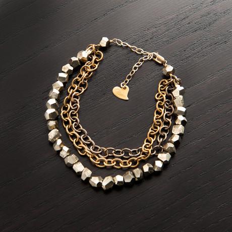 Planetary Rings Bracelet