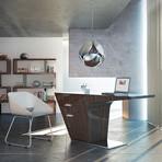 Mercer Desk // Ebony Lacquer