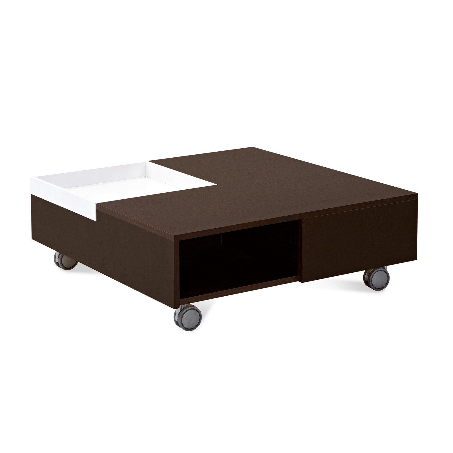 roy table wenge domitalia living touch of modern. Black Bedroom Furniture Sets. Home Design Ideas