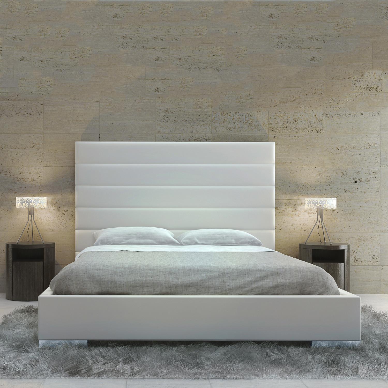 Prince Bed White California King Modloft Bedroom