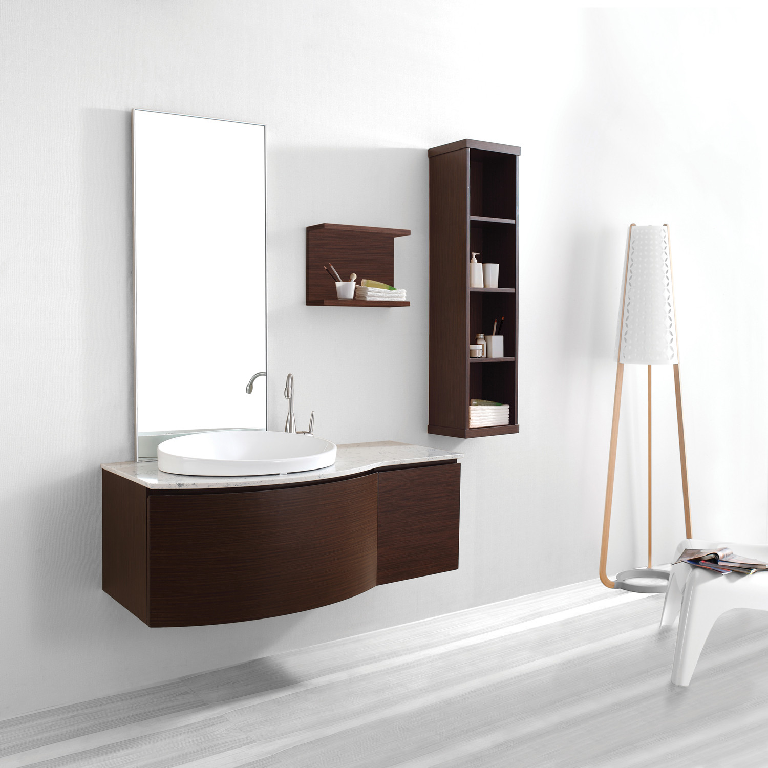 Isabelle Walnut Marble Virtu Usa Touch Of Modern