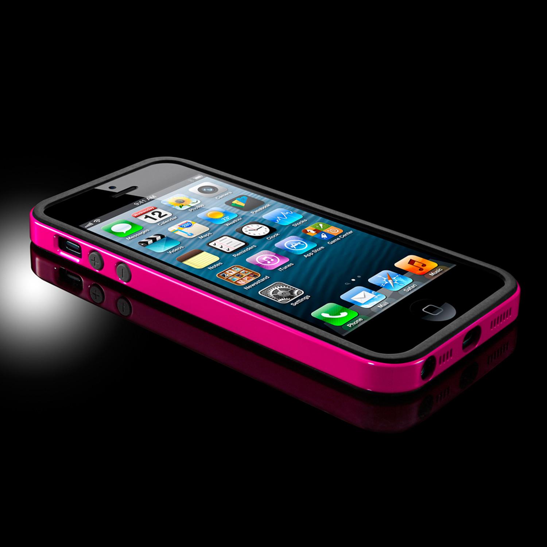 huge discount c99cd 355fa Neo Hybrid iPhone 5 Case // Pink - Spigen - Touch of Modern