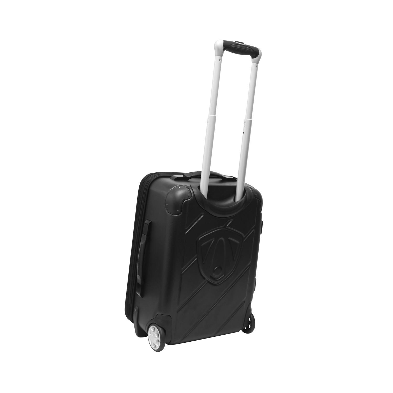 Hybrid 20 Expandable Wheeled Carry On Black Black Traveler 39 S Choice Luggage Touch Of