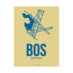 BOS Boston Poster (Beige)