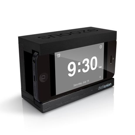 how long is snooze on iphone snooze iphone alarm dock touch of modern 7241