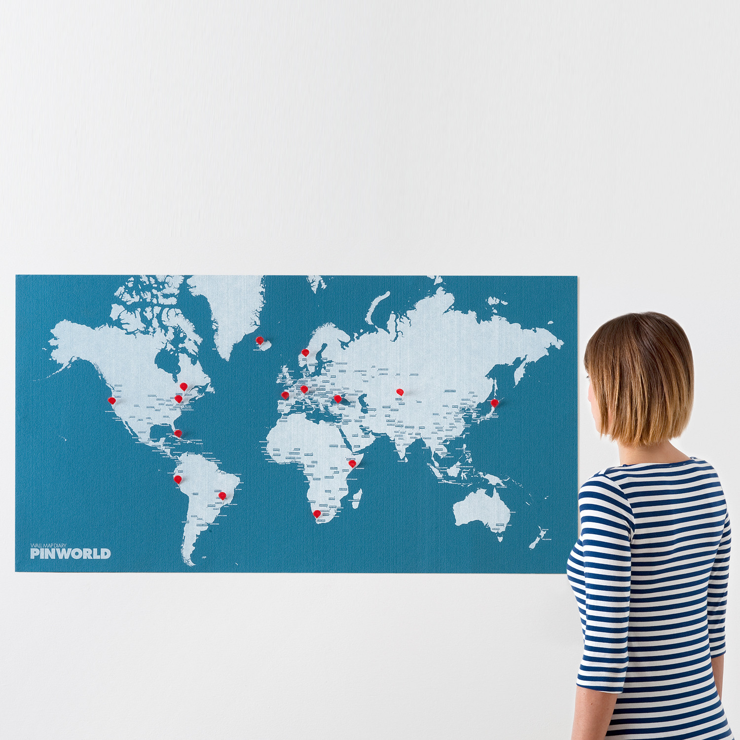 Pin world map black palomar touch of modern pin world map black gumiabroncs Choice Image