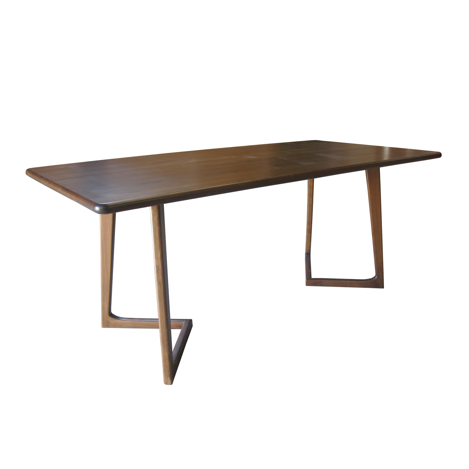 Perry dining table standard nuans touch of modern for Standard dining table