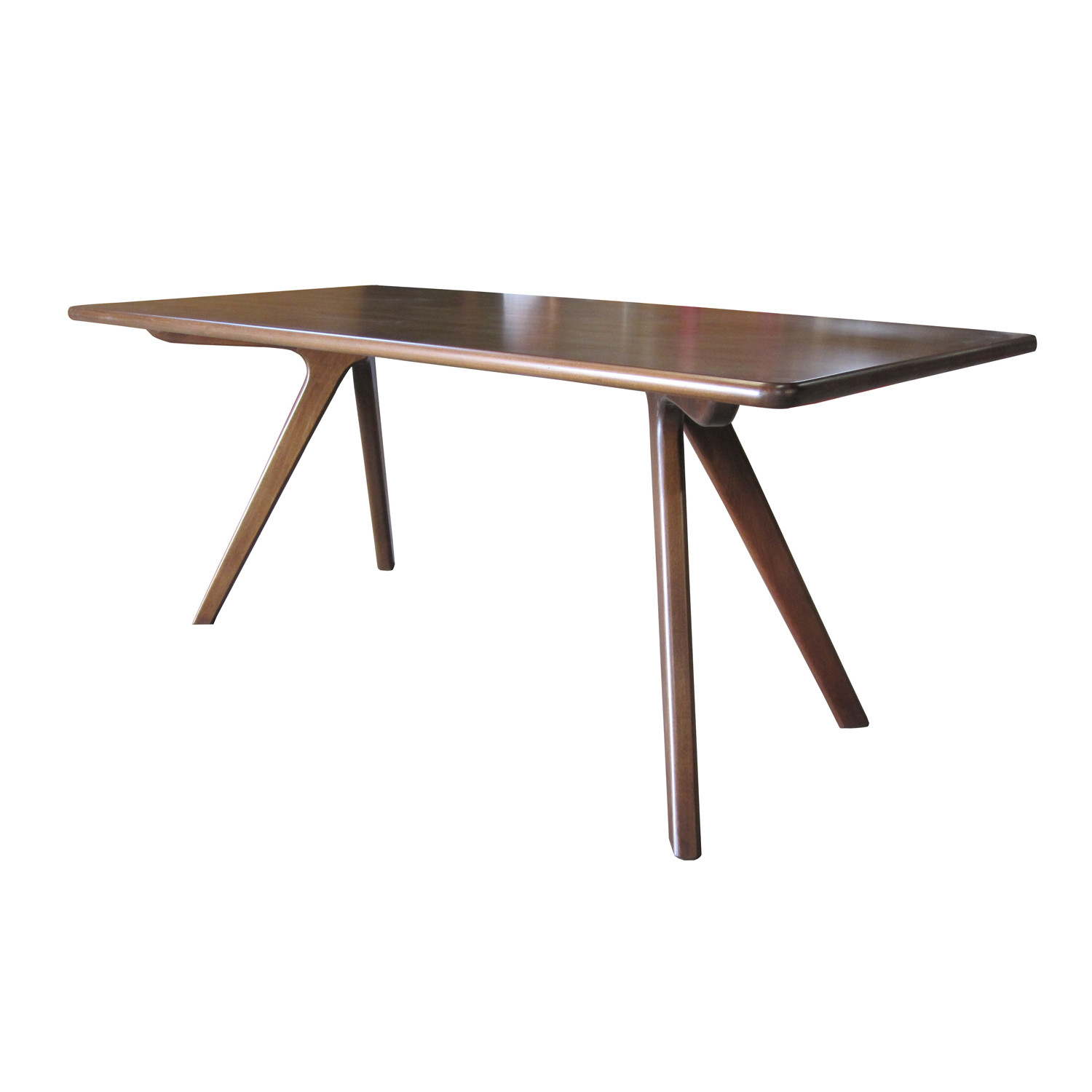 Charles dining table standard nuans touch of modern for Standard dining table